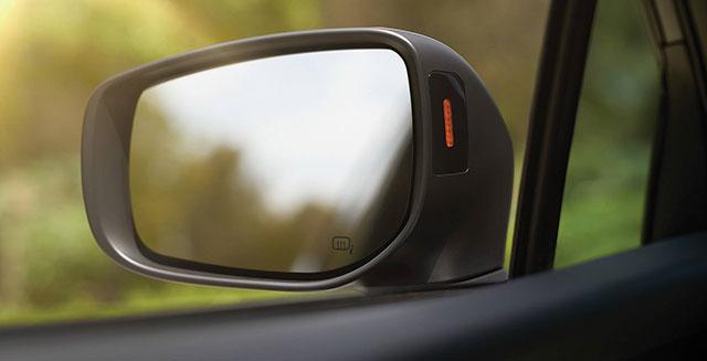 Blind-Spot Detection and Lane Change Assist